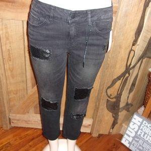NWT New dollhouse Blk Jeans Junior 11